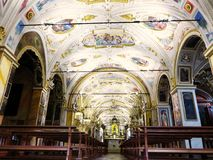 Santuario di Madonna del Sasso, Orselina Fotografia Stock