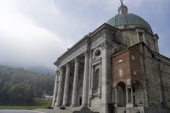Santuario di Madonna nero di Oropa Immagini Stock Libere da Diritti