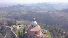 Santuario di Madonna di San Luca Bologna Italy archivi video