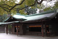 Santuario di Meiji Jingu Immagine Stock Libera da Diritti