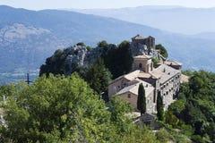 Santuario di Mentorella Immagine Stock