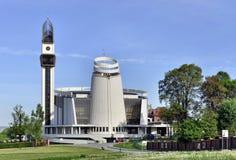 Santuario di misericordia divina a Cracovia Fotografia Stock Libera da Diritti