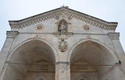 Santuario di Monte Sant ' Angelo Fotografia Stock Libera da Diritti