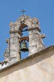 Santuario di Monte Sant'Angelo. La Puglia. L'Italia. fotografia stock