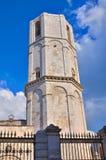 Santuario di Monte Sant ' Angelo. La Puglia. L'Italia. fotografia stock libera da diritti