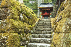 Santuario di Nikko Fotografia Stock