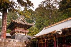 Santuario di Nikko Toshogu, Tochigi, Giappone Immagine Stock Libera da Diritti