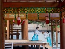 Santuario di Nogi, Roppongi, Tokyo Immagine Stock