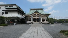 Santuario di Okayama Immagine Stock