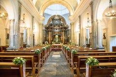 Santuario di Oropa, il 25 giugno 2016 Santuario nelle montagne di Biella immagine stock libera da diritti