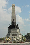 Santuario di Rizal in Luneta durante il giorno di Rizal Fotografia Stock Libera da Diritti