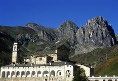 Santuario di San Magno. fotografia stock