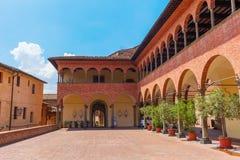 Santuario di Santa Caterina in Siena Stock Images