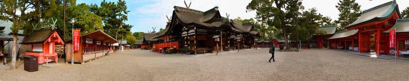 Santuario di Sumiyoshi Taisha, Osaka Immagini Stock