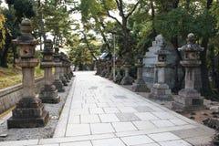 Santuario di Sumiyoshi Taisha, Osaka Immagini Stock Libere da Diritti