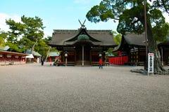 Santuario di Sumiyoshi Taisha, Osaka, Giappone Immagini Stock Libere da Diritti