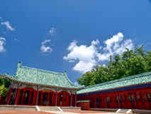 Santuario di Tainan Koxinga Fotografia Stock