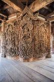 Santuario di verità a Pattaya, Tailandia Immagine Stock