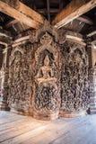 Santuario di verità a Pattaya, Tailandia Fotografia Stock
