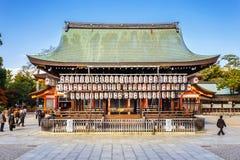 Santuario di Yasaka a Kyoto, Giappone Fotografie Stock Libere da Diritti