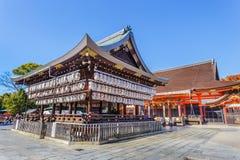 Santuario di Yasaka a Kyoto, Giappone Immagine Stock