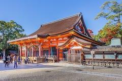 Santuario di Yasaka a Kyoto, Giappone Immagini Stock