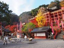 Santuario di Yotoku Inari Immagine Stock