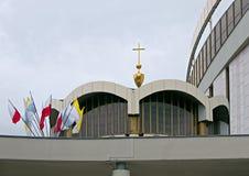 Santuario divino de la misericordia en Kraków, Polonia fotos de archivo libres de regalías