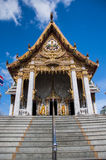 Santuario en un templo tailandés Imágenes de archivo libres de regalías