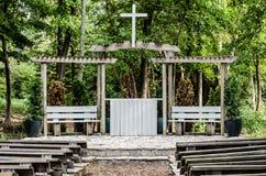 Santuario esterno Fotografie Stock Libere da Diritti