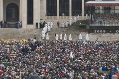 Santuario Fátima - 13 de mayo de 2009 Imagen de archivo libre de regalías