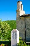 Santuario Giovanni Paolo II, San Pietro della Ienca, Abruzzo, Itália Fotos de Stock