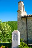 Santuario Giovanni Paolo II, San Pietro della Ienca, Abruzzo, Włochy Zdjęcia Stock