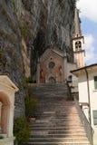 Santuario Madonna della Corona Stock Image