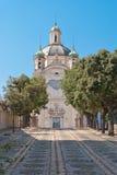 Santuario Madonna dellaCosta, Sanremo Royaltyfri Bild