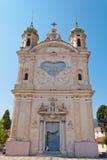 Santuario Madonna dellaCosta, Sanremo Royaltyfria Bilder