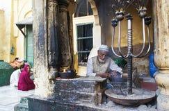 Santuario Nizamuddin dei musulmani a Nuova Delhi Immagini Stock