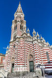 Santuario Nuestra夫人del卡门La坎德拉里亚角波哥大哥伦比亚 图库摄影