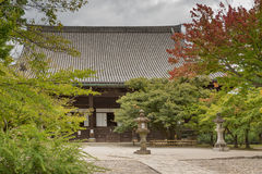 Santuario principale del tempio buddista di Shinnyo-KO Fotografia Stock Libera da Diritti