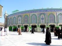 Santuario santo di Abbas Ibn Ali, Kerbala, Irak immagini stock libere da diritti