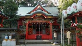 Santuario shintoista Immagini Stock