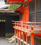 Santuario shintoista giapponese Fotografie Stock