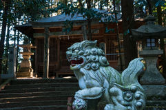 Santuario shintoista rurale Fotografia Stock Libera da Diritti