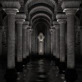 Santuario sotterraneo Fotografia Stock Libera da Diritti