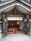 Santuario tradizionale del giapponese a Tokyo Immagini Stock Libere da Diritti