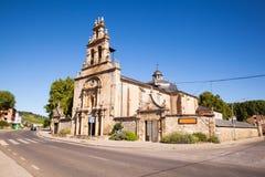 Santuario Virgen de las Angustias, Cacabelos Stock Images