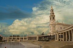 Santuary di Fatima Immagine Stock