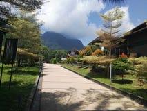 Santubong da praia de Damai foto de stock royalty free