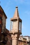 Santuário da coluna - delle Erbe Verona da praça Fotos de Stock Royalty Free