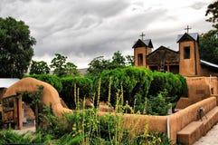 Santurio de Chimayo Foto de archivo